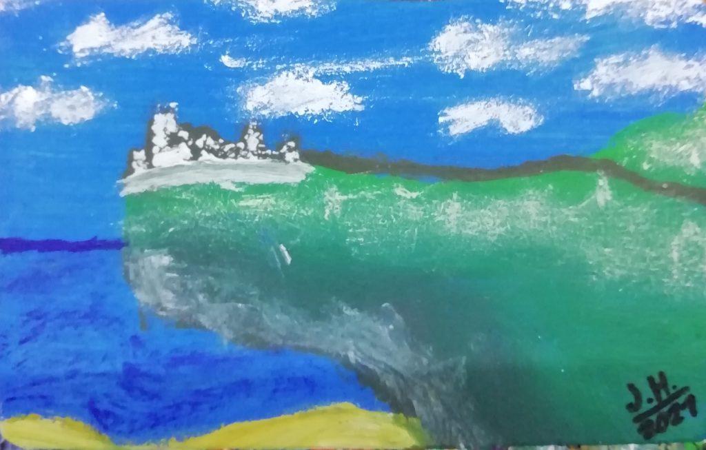 Die Burg am Rand
