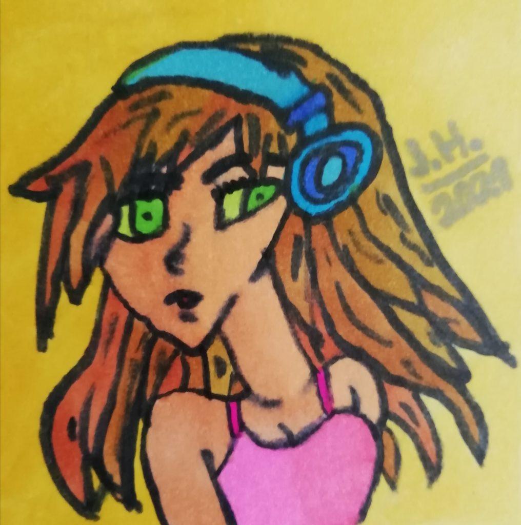 Das Manga girl