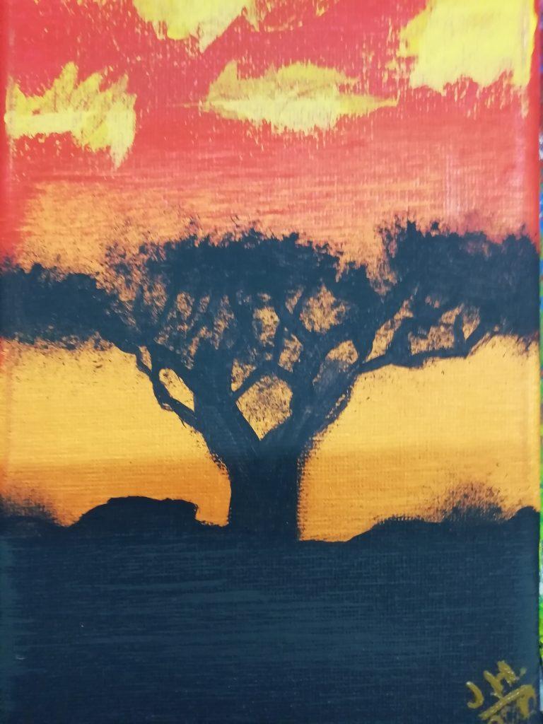 Der dunkle Baum