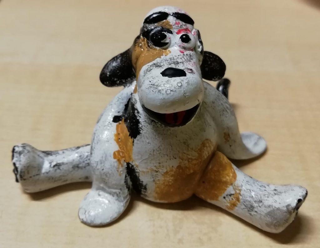 Bemalter Hund