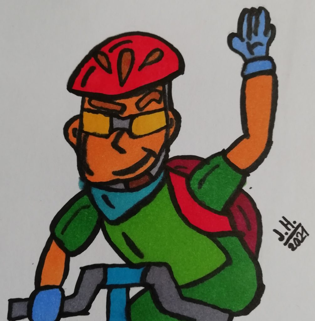 Fahrradfahrer