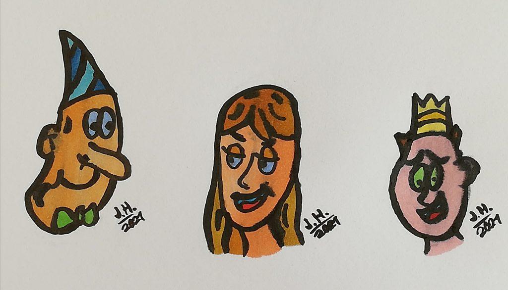 Comicfigurne zeichnen Part 2