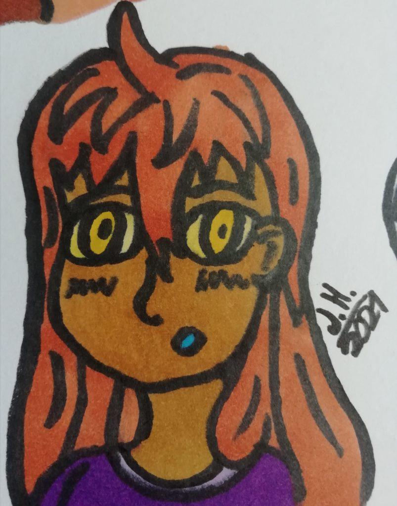 Die Manga Frau