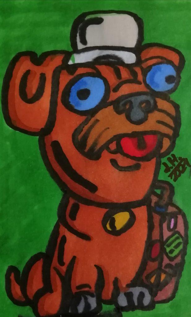 Cartoon Hund
