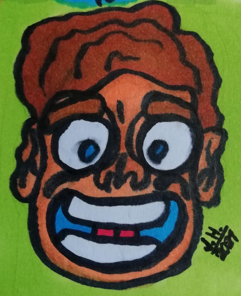 Comicfigur zeichnen