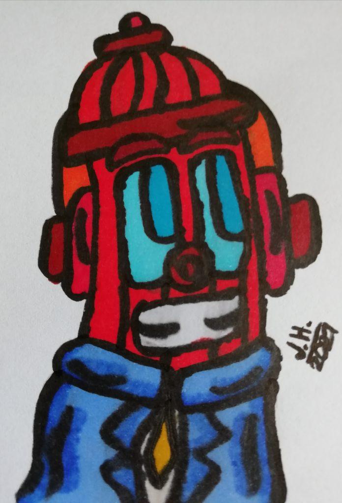 Cartoon Hydrand