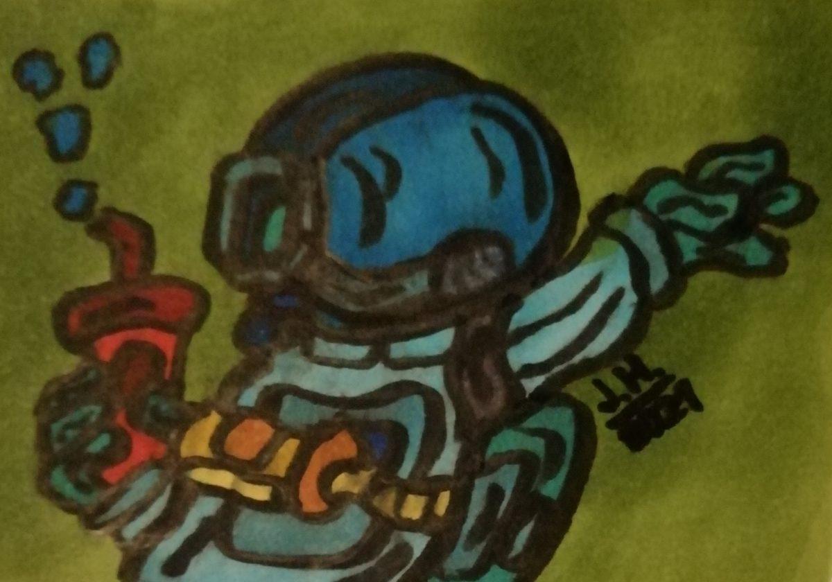 Comic Astronaut