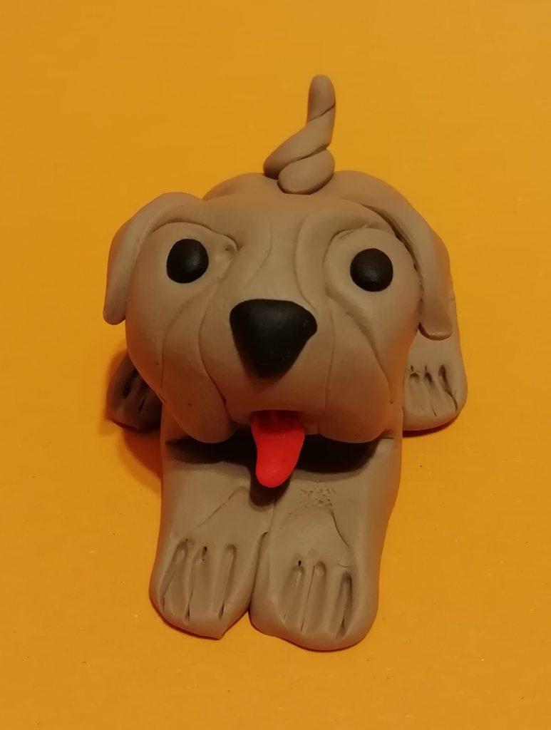 Knete Hund